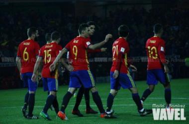 España jugará dos amistosos en noviembre