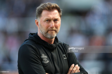 The Southampton boss watches on as his side drew with West Ham | GettyImages