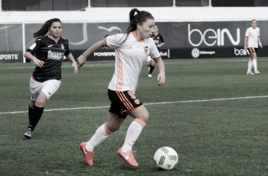 Aedo during her time with Valencia | Source: Yanara Aedo Twitter -  @YanaraJudo
