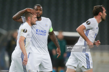 AEK Athens 1-2 Leicester City: First-half strikes from Vardy and Choudhury enough for victory