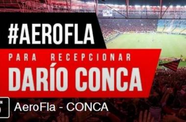 Cobertura Interativa: recepção no aeroporto de Darío Conca, novo reforço do Flamengo