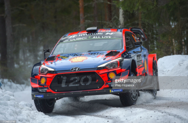 WRC Rally Sweden: Neuville ahead after opener