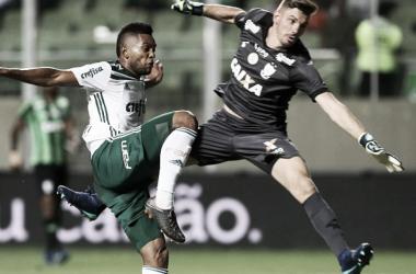 Borja marcou o primeiro na vitória da equipe alviverde (Foto: Divulgação/Palmeiras)