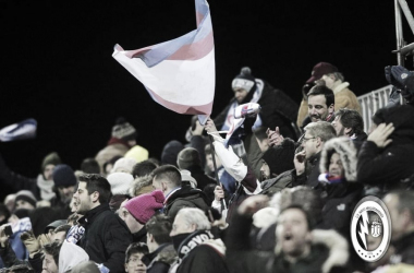 Afición durante un partido. Fotografía: Rayo Majadahonda
