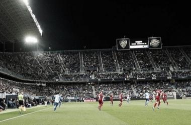 El Málaga CF sufre jugando los domingos