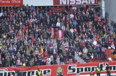 Sin suplemento para socios en la visita del Sporting de Gijón
