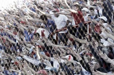 Hinchas de Nacional en el último partido, ante Rentistas. Foto: Alejandro Aparicio (Pasión Tricolor Radio)