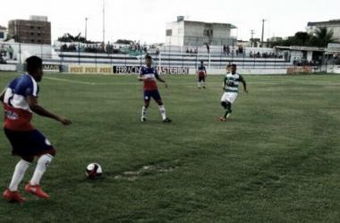 Apesar de mandante, o Belo não pôde jogar no seu estádio (Foto: Divulgação / FPF-PE)