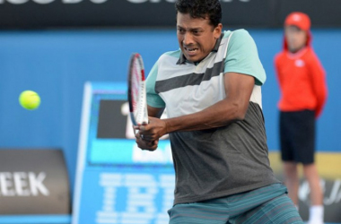 Mahesh Bhupathi teamed with Jonathan Marray to knock out the top seeds in Montpellier/Photo: AFP