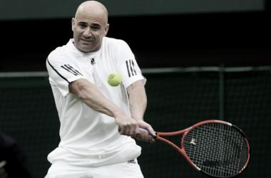 Agassi, otro que vive en el Olimpo del tenis