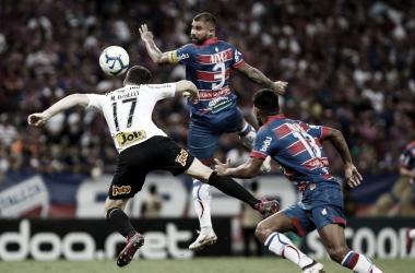 Duelo no primeiro turno contou com o argentino Boselli fazendo um dos gols da vitória corintiana (Foto: Rodrigo Gazzanel/Agência Corinthians)