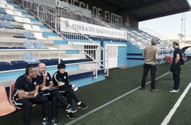 """Joseba Agirre: """"El equipo ha demostrado que tiene carácter"""""""