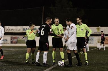 La tanda de penaltis decidió el encuentro entre la Peña Deportiva y el Sabadell | Foto: CE Sabadell FC