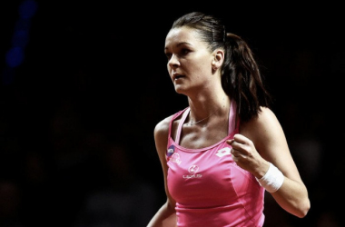 WTA Stuttgart: Agnieszka Radwanska books last place in semifinals with straight sets win over Karolina Pliskova