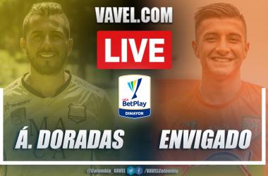 Resumen Águilas Doradas vs Envigado (1-1) en la fecha 7 por Liga BetPlay 2021-I