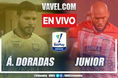 Resumen: Águilas Doradas 1-2 Junior en la fecha 11 por Liga BetPlay 2021-II