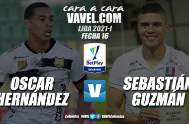 Cara a cara: Oscar Hernández vs Sebastián Guzmán