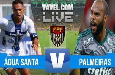 Resultado Água Santa x Palmeiras no Campeonato Paulista 2016 (4-1)