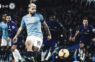 Camisa dez chegou ao seu terceiro hattrick nessa temporada (Reprodução / Manchester City)