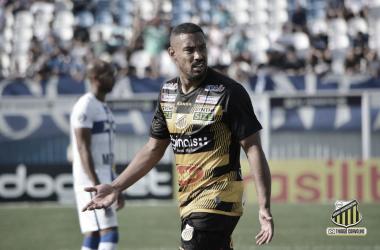 Bruno Aguiar destaca motivação no Grêmio Novorizontino para buscar vaga na Série C
