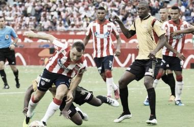 Junior dejó escapar dos puntos en el Metropolitano