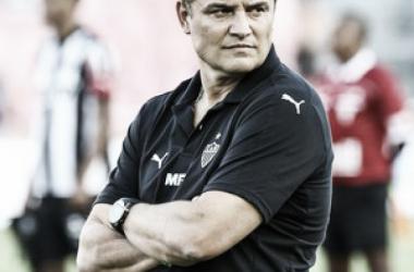 """Aguirre elogia vitória do Atlético-MG em cima do Uberlândia, mas ressalta: """"Temos de melhorar"""""""