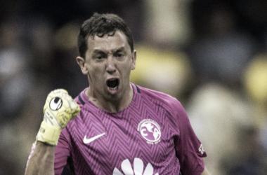 Agustín Marchesín debutó ante Toluca el 15 de enero de 2017 (Foto: Televisa Deportes)