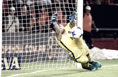 Rossi tuvo una gran actuación ante Colón a principio de año y se ganó un lugar. Foto: Infobae.