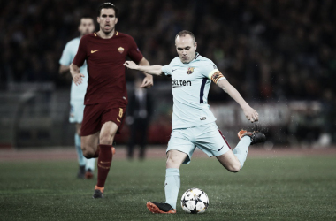 Andres Iniesta. Fonte: UEFA Champions League/Twitter