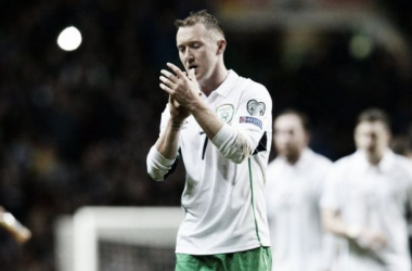 Hoping for better: McGeady will be wanting a better result than last time against Scotland