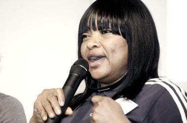 Independent chairperson of the NWFL board  Aisha Falode I Picture Source: Premium Times