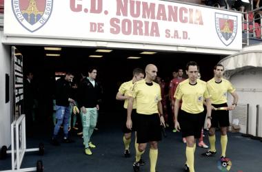 Aitor Gorostegui, árbitro en Soria frente al Numancia