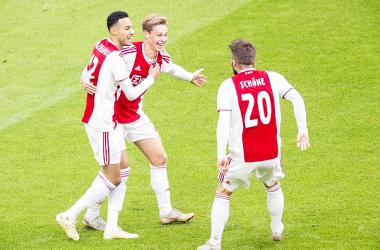 El Ajax se impuso al Feyenoord. | Foto: @AFCAjax