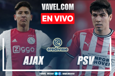 Goles y resumen del Ajax 5-0 PSV en Eredivisie 2021