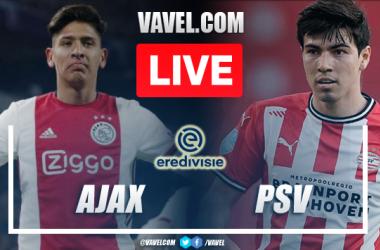 Goals and Highlights: Ajax 5-0 PSV in Eredivisie