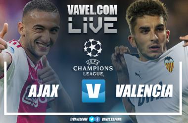 Resumen y mejores momentos Ajax 0-1 Valencia en UEFA Champions League 2019