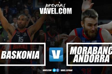 Previa Baskonia vs MoraBanc Andorra : duelo entre los dos equipos más en forma de la liga. Fotomontaje: Juan Pedro Belmonte García (VAVEL España)