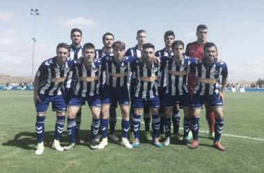 Once inicial del Alavés B. / Foto: Deportivo Alavés