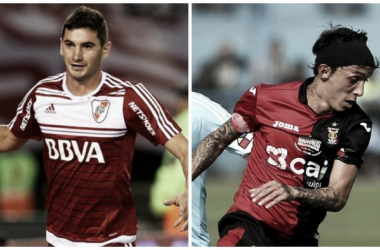 Alario y Fernández. Las estrellas de ambos equipos. FOTO: Web.