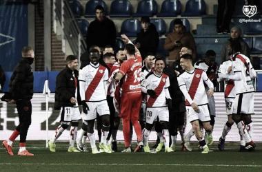 Jugadores en un partido. Fotografía: Rayo Vallecano S.A.D