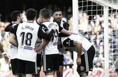 El Valencia CF, más cerca del objetivo