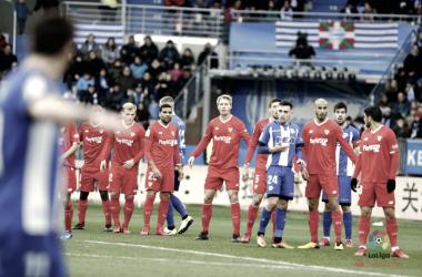 El Deportivo Alavés cerró la primera vuelta con victoria