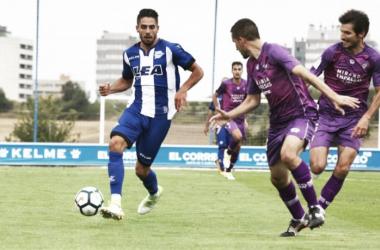 El Mirandés perdió por 3-0 ante el Alavés en Ibaia. | Foto: Deportivo Alavés