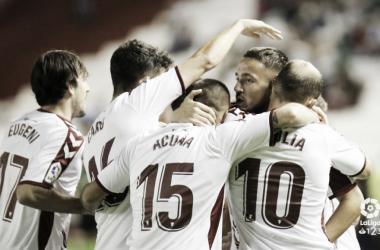 Un Albacete que no conoce la derrota, visita el Tartiere | Imagen: La Liga 1|2|3