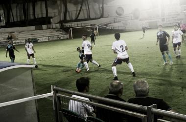 Imagen en medio del partido | Fotografía: Rayo Majadahonda