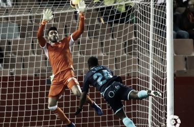 Bela en el cabezazo que les dió el empate vs Granada. Imagen: La Liga.