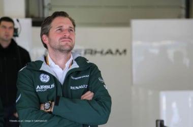 Durou apenas dois meses a estadia do ex-piloto holandês na Caterham (foto: CaterhamF1)