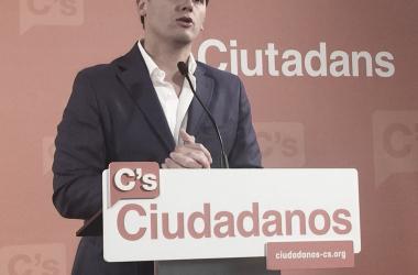 Albert Rivera, líder de Ciudadanos // Fuente: www.ciudadanos-cs.org