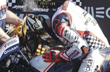 Albert Arenas, Campeón del Mundo de Moto3 2020 / Foto: motogp.com