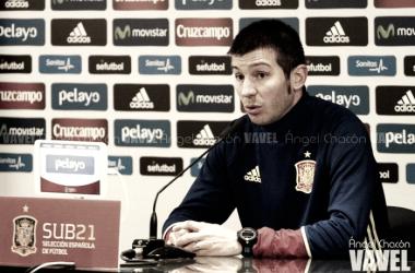 """Albert Celades: """"Macedonia tiene un equipo magnífico"""""""
